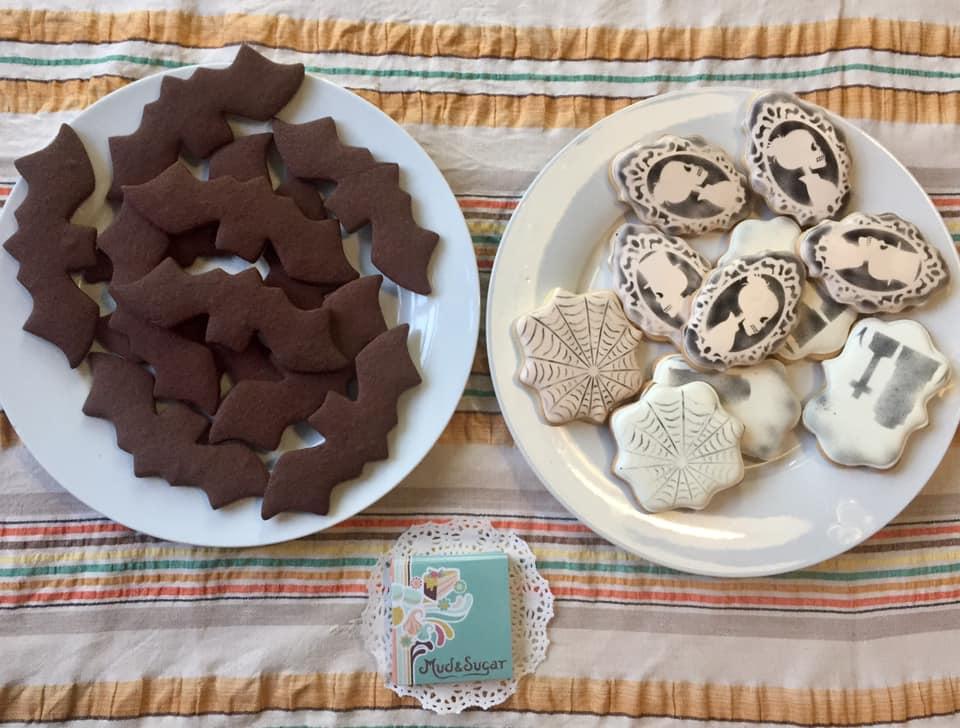 Halloween cookies Mud and Sugar